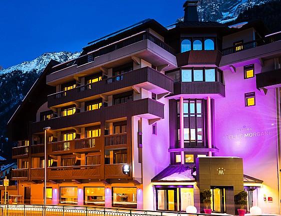 Ski resort chamonix mont blanc slopes for Boutique hotel ski
