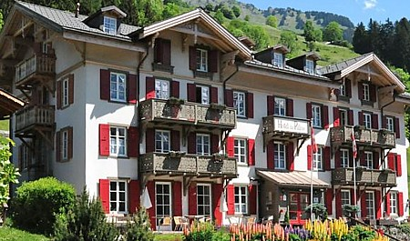Les Diablerets Boutique Hotel du Pillon
