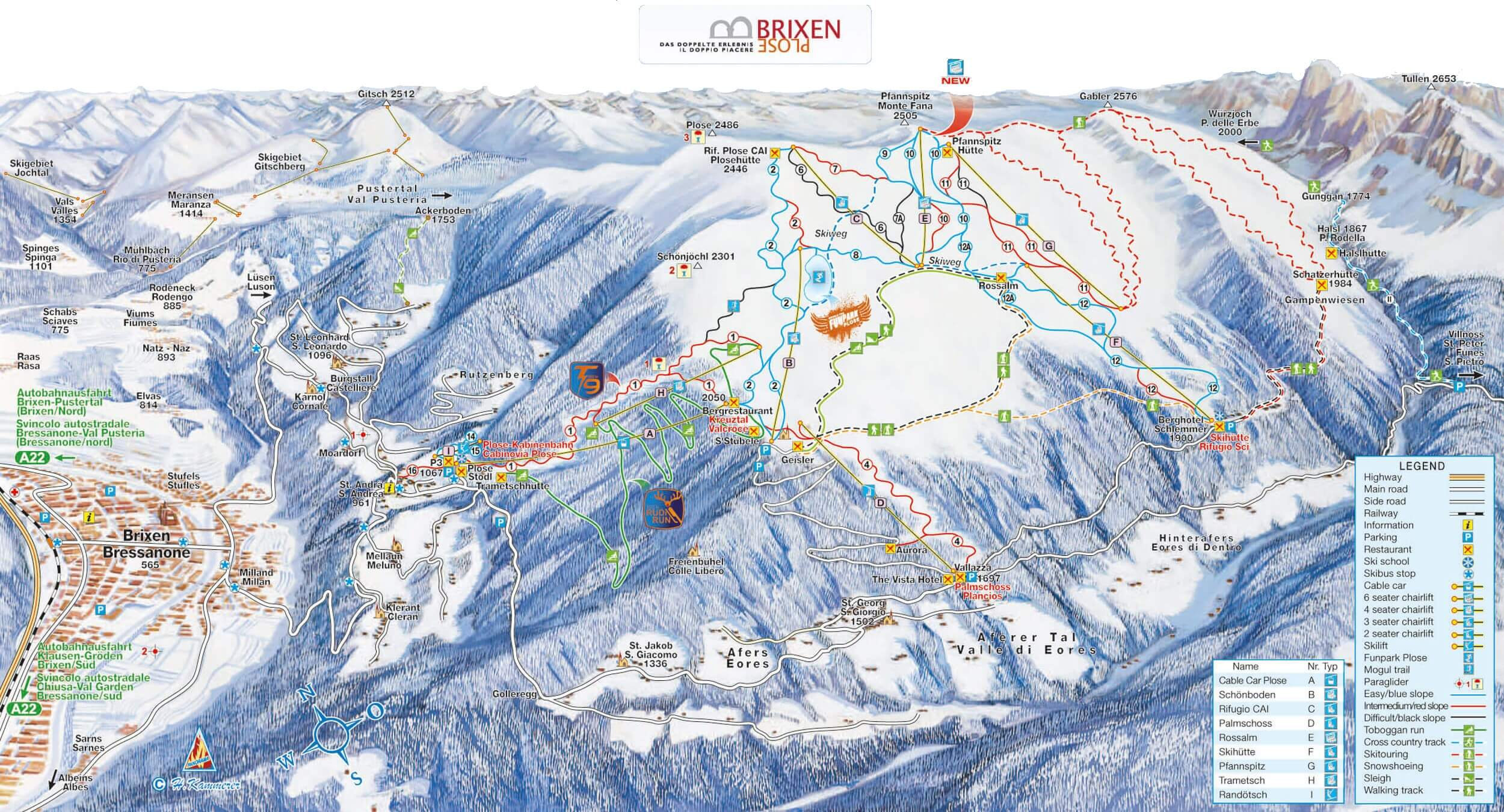 Brixen-Plose slopes