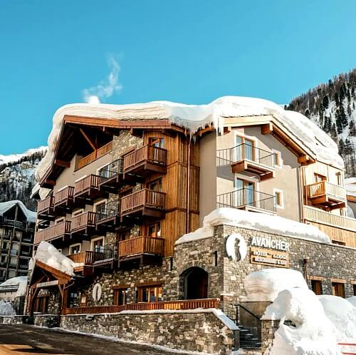 Val d'Isere Hotel Avancher
